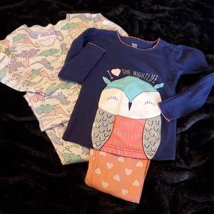 Carter's Bundle of Girl's Pajama Sets